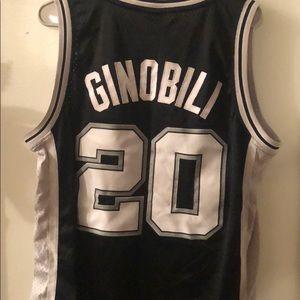 promo code daeb6 9c72a Adidas San Antonio Spurs/ Manu Ginobili Jersey